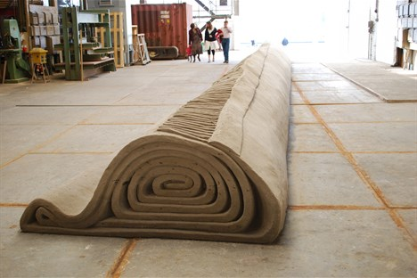 Rolled Carpet 1 (2200x100x200cm)