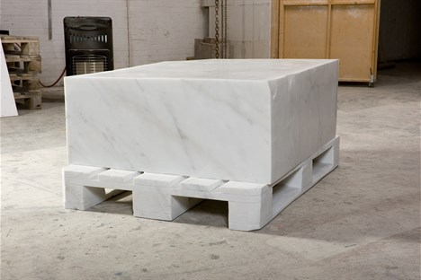 Make it yourself: Marble (2012) marble 120x51x82 cm