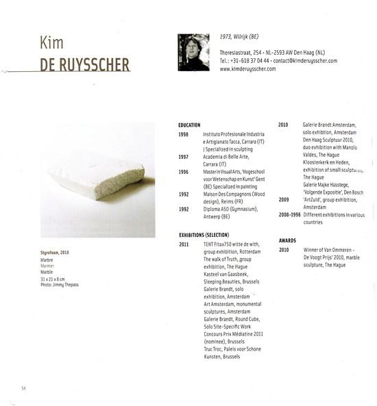Kim De Ruysscher - European Prize for Applied Arts